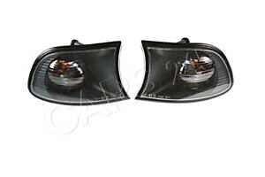 BMW 3 series E46 Compact 01-05 Front Indicator Lights Lamps Left+Right Pair