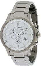 Citizen Eco-Drive Titanium Ti + IP Mens Watch AT2340-56A