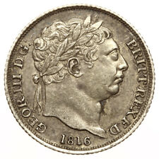 1816 Sixpence George III ~ High Grade