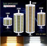LAMPADA LAMPADINA LED R7S 78/118/135/189 mm 220V 10W 20W 25W 30W luce 180°