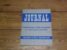 Society of Film and Television Arts Journal No 20, Summer 1965.