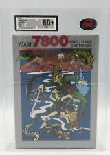 RARE! ATARI 7800 System-Arbalète Jeu - 1988 NTSC-UKG classé 80+ Presque comme neuf!!!