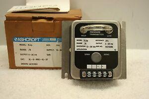 ASHCROFT XLdp XL-5-MB2-42-ST Gauge Range .75 **NEW in Box**