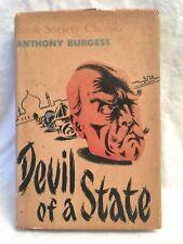 Anthony Burgess - Devil of a State - 1st/1st 1961 Heinemann, in Original Jacket