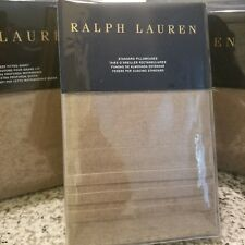 New Ralph Lauren 4PC Queen Sheet Set- MODERN ICONS  Ruth Taupe