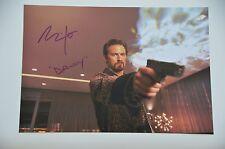 Milo Ventimiglia SIGNED 20x30cm Wild Card foto autografo/Autograph in persona