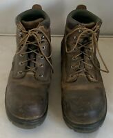 Red Wing Mens King Toe Safety Lace Up Work Boots Waterproof Brown Size 10.5 D