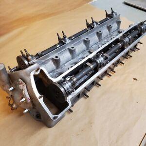 Jaguar 3.4 Mark 2 MK2 Engine Cylinder Head C26201 C2277 with Camshafts and Caps