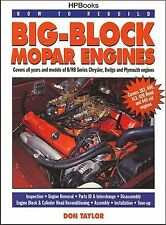 HP Books How to Rebuild Big-Block Mopar Engines: 383, 400, 413, 426 Hemi 440