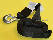 "DELUXE BOAT PWC Jetski TRAILER REPLACEMENT WINCH STRAP 2"" x20' WITH SNAP HOOK"