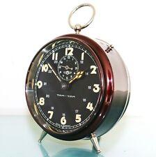 KIENZLE TAMTAM Mantel Alarm Clock MUSEUM QUALITY! Antique BAUHAUS! 1920s Germany