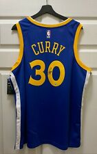 Stephen Curry #30 Signed Warriors Jersey Autographed Sz 52 NIKE STEINER COA AUTO