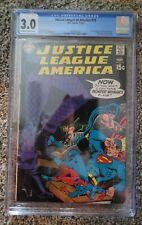 Graded 3.0 CGC Justice League of America 75 Black Canary DC comics