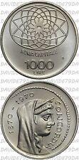 0542] REPUBBLICA ITALIANA - 1000 LIRE D'ARGENTO ROMA CAPITALE 1970 _ FDC