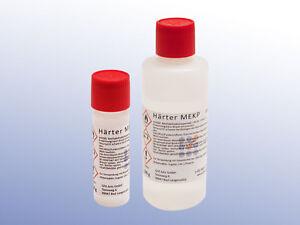 Härter MEKP für Polyesterharze, Gelcoats 20g, 100g, 200g, 500g, 1000g, hardener