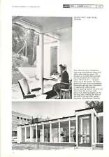 1963 Industrial Health Clinic Park Royal London Allison And Peter Smithson