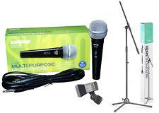 Shure SV 100 Microphone dynamique pour la langue et chant avec micro-Trépied & BORNE