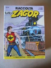Raccolta TUTTO ZAGOR n°114 edizione Bonelli  [G615] BUONO