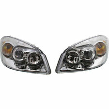 NEW SET OF 2 HALOGEN HEAD LAMP ASSEMBLY RH & LH SIDE FITS COBALT G5 GM2505130
