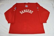 Extremely RARE 90's era Authentic CCM New York Rangers practice jersey