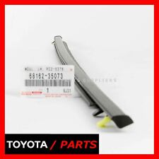 FACTORY TOYOTA FJ CRUISER WINDOW SWEEP BELT MOLDING FRONT DRIVER 6816235073 OEM