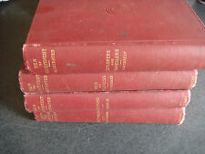 MEN OF ACHIEVEMENT 4 VOLUMES 1893 FIRST EDITION CHARLES SCRIBNER'S SONS