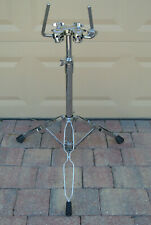DW DOUBLE TOM FLOOR STAND for YOUR TOMS and dw USA DRUM SET! LOT #Z223