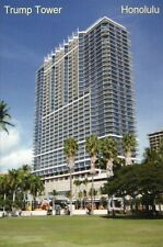 Trump Tower in Honolulu, Oahu Hawaii, International Condo Hotel, HI --- Postcard