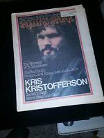Rolling Stone Magazine Kris Kristofferson Issue 159, 4/25/74 Excellent Condition