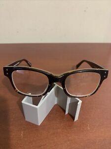 eyebobs Fizz Ed Premium Reading Glasses Tortoise Front Black 2239-05 +3.50 NEW