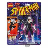 """Marvel Legends Spider-Man Vintage Retro BLACK CAT 6"""" AF HASBRO"""