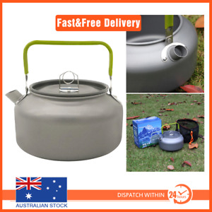 1.2L Outdoor Camping Hiking Portable  Aluminum Teapot Kettle Coffee Pot