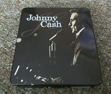 JOHNNY CASH METAL COLLECTORS BOX 3 DISC SET 2 CD + 1 DVD AND BOOKLET