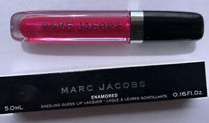 Marc Jacobs Enamored Dazzling Gloss Lip Lacquer Shade 378 Not Sorry 5.0ml NIB