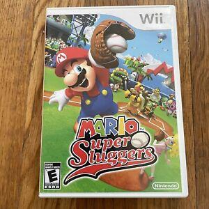 Mario Super Sluggers (Wii, 2008) Complete CIB Nintendo