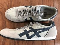 ASICS Onitsuka Tiger Serrano Sneakers   Gray & Blue   Size 9.5