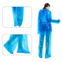 Disposable Split Raincoat Rain Pants Suit Protective Clothing Unisex Waterproof