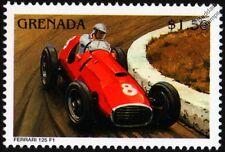 FERRARI 125 F1 Racing Car Stamp
