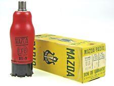 EF6 = TEF6 = VEF6 = MEF6 = 6E2 Mazda Radio Röhre tube NOS NEW NEU