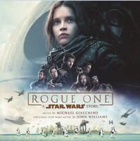ROGUE ONE A STAR WARS STORY Original Soundtrack CD NEW Michael Giacchino