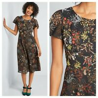 Modcloth Embellished to Perfection Midi Dress