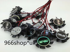 1X For 37mm ASUS ATI NVIDIA VGA Video Card Fan Replacement 26mm 2Pin T124010DL