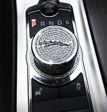 Car Auto Accessories Gear Shift Knob Shifter Emblem Cover Logo For Jaguar