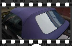 Fiat Barchetta Verdeck Cabrioverdeck Neu! Sonnenland! blau! TOP QUALITÄT!