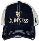 Guinness Beer Retro Brand Mesh Adjustable Snapback Trucker Hat Cap
