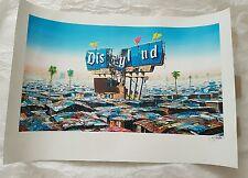 Jeff GILLETTE... W/COA + dismaland programma + BIGLIETTO... ottime condizioni... Banksy