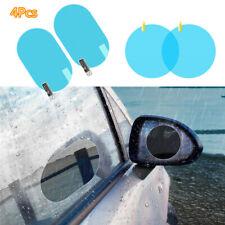 4Pc Car Rearview Mirror Membrane Anti-fog Rainproof Window Automobile Clear Film