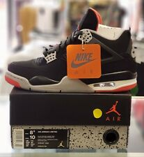 "AIR JORDAN 4 IV RETRO ""BRED""  Sz. 8.5  308497-060 DS."