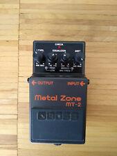 Boss Metal Zone MT2 MT-2 Gitarreneffekt Effektpedal Verzerrer