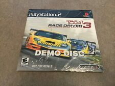 ToCA Race Driver 3 (Sony PlayStation 2, 2006) DEMO DISC NOT FOR RESALE.
